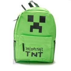 Зеленый рюкзак TNT Minecraft