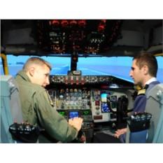 Подарочный сертификат Полет на авиасимуляторе для двоих