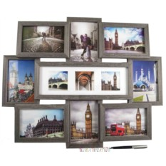 Настенная фоторамка-коллаж на 11 фото Яркие впечатления