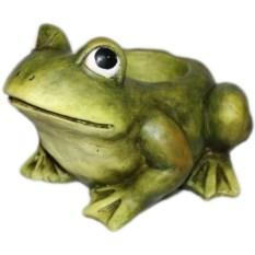 Садовая фигура-кашпо Лягушка