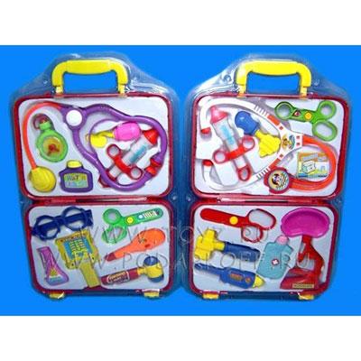 Набор «Доктор» в пластмассовом чемодане