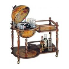 Глобус-бар со столиком Барон Ван Свитен