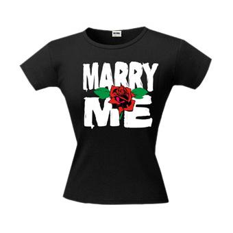 Футболка Marry me