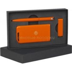Оранжевый подарочный набор Всегда в деле
