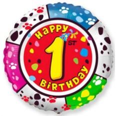 Шар на день рожденье Number (в ассортименте)