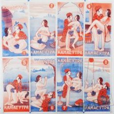 Салфетка бумажная «Камасутра»