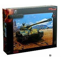 Пазл World of tanks