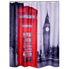 Шторка для ванной Лондон