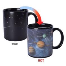 Кружка-хамелеон «Солнечная система»