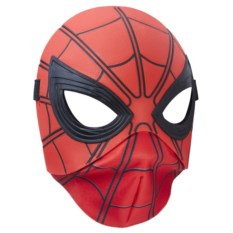 Маска Человек-паук (пластик и ткань)