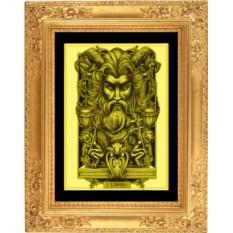 Картина из золота Весы