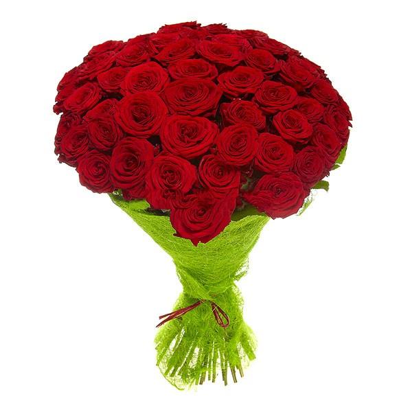 Букет из 45 роз (50см)