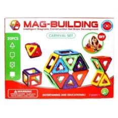 20 деталей магнитного конструктора Mag Building