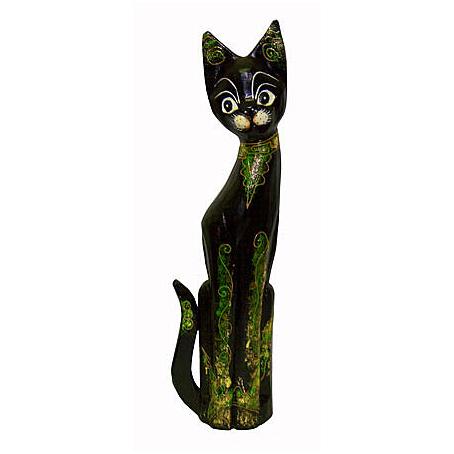 Статуэтка «Кошка-хвост трубой»