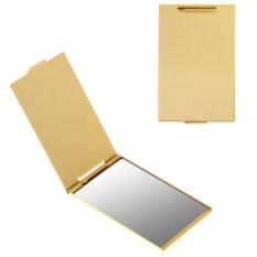Прямоугольное зеркало размером 5х8,5 см (цвет: под золото)