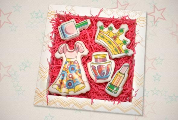Подарочное печенье «Принцесса»
