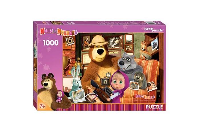 Пазл Маша и медведь