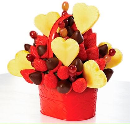 Фруктовый букет С любовью в сердце