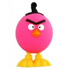 Флешка Злая птица, розовая на 16 гб