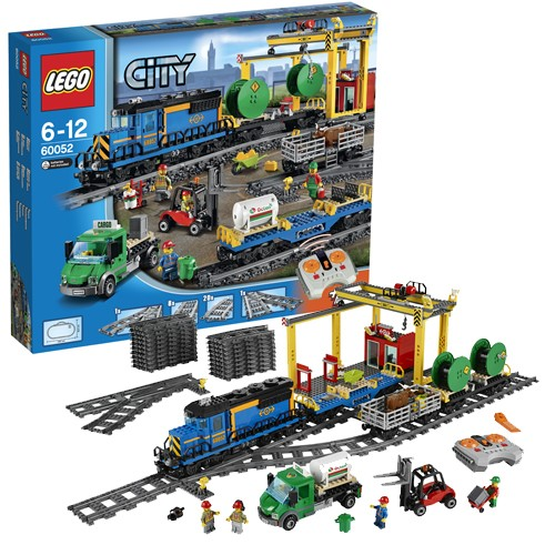 Конструктор  LEGO Лего Город. Грузовой поезд