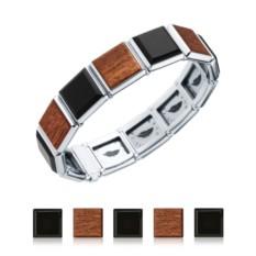 Мужской браслет со сменными вставками