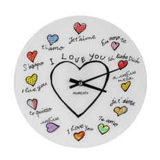 Настенные часы Я люблю тебя