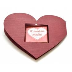 Валентинка с шоколадкой