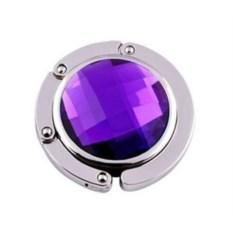 Крючок для сумки Jessie (цвет: фиолетовый)