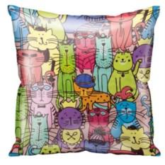 Подушка Color Cats