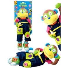 Развивающая игра Учимся одеваться с обезьянкой от ALEX