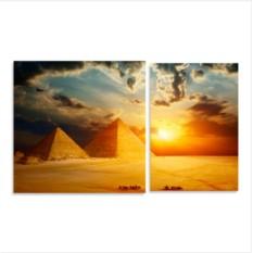 Модульная картина Пирамиды Гизы