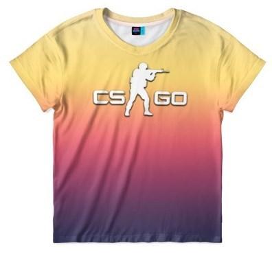 Детская футболка Fade cs: go