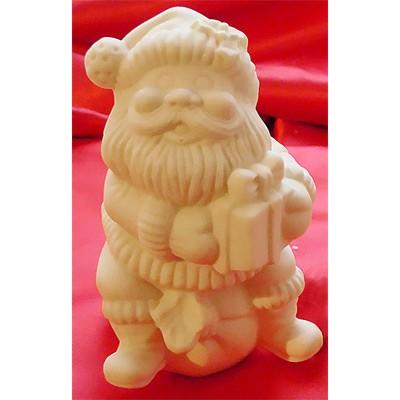Дед мороз шоколадный с подарком