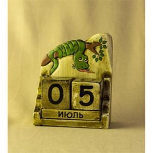 Календарь Змея -искуситель (Декор антик)