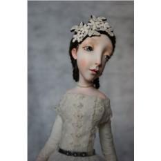 Кукла из паперклея EvaDolls Адель