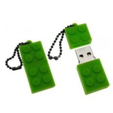 Зеленая флешка LEGO