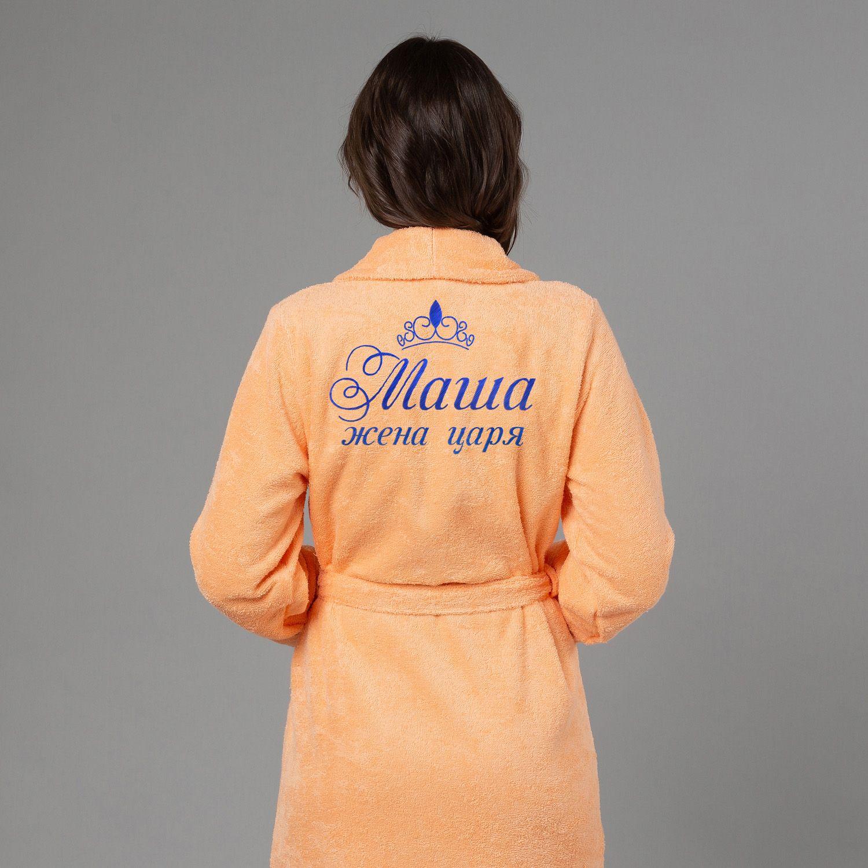 e41393647eeb3 Женский халат с вышивкой