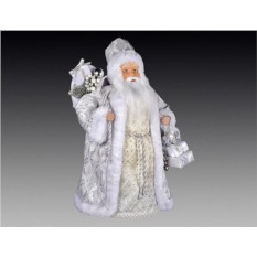 Дед мороз в кремовой шубе