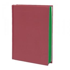 Блокнот Color palette, бордовый
