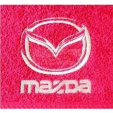 Махровое полотенце с логотипом Mazda