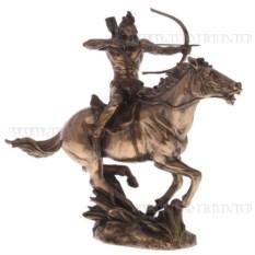 Декоративная фигурка Индеец на лошади