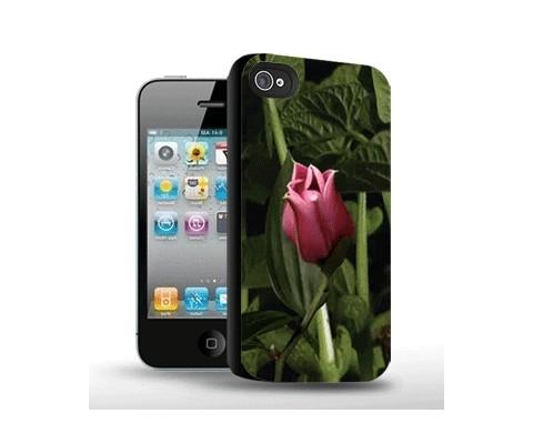 Панель для iPhone «Распускающийся цветок»