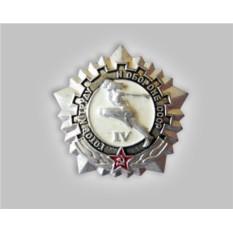 Значок «ГТО IV ступени»