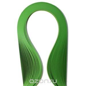 Набор бумаги для квиллинга, цвет: травяной, 100 шт