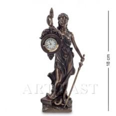 Статуэтка-часы Фемида - богиня правосудия