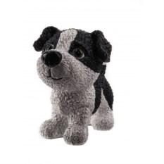 Черно-белая декоративная фигурка Собака