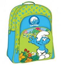 Зелено-голубой рюкзак «Смурфики»