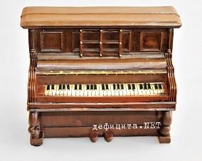 Копилка в стиле «ретро» «Пианино»