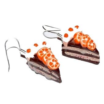 Серьги «Тортики»