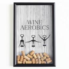 Копилка для пробок Wine Ver.2 Wine Aerobics